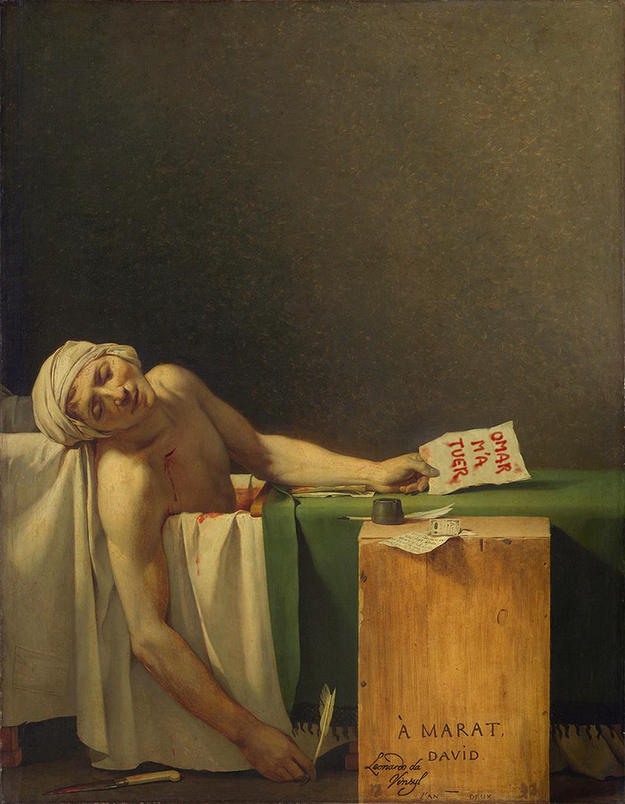 La mort de Marat - David