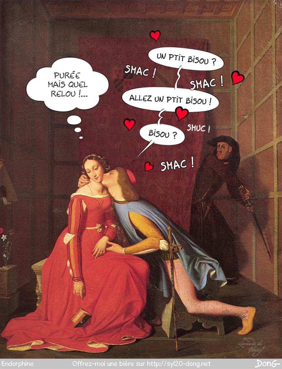 Paolo et Francesca - Ingres