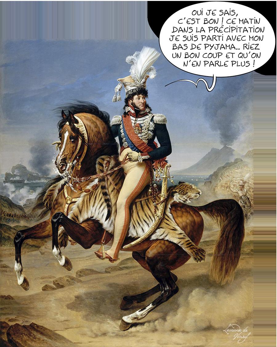 Joachim Murat Roi de Naples - Antoine-Jean Gros